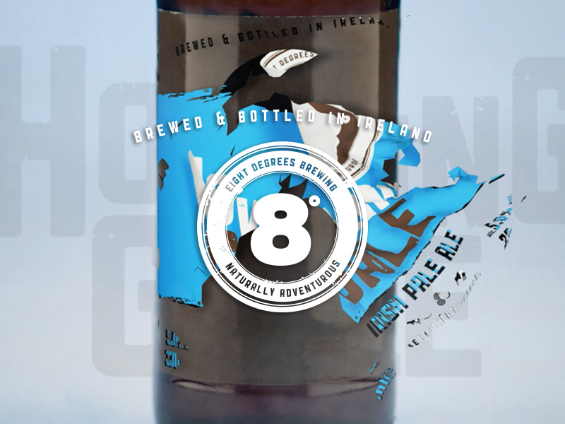 8 Degrees Brewing – Animated Labels