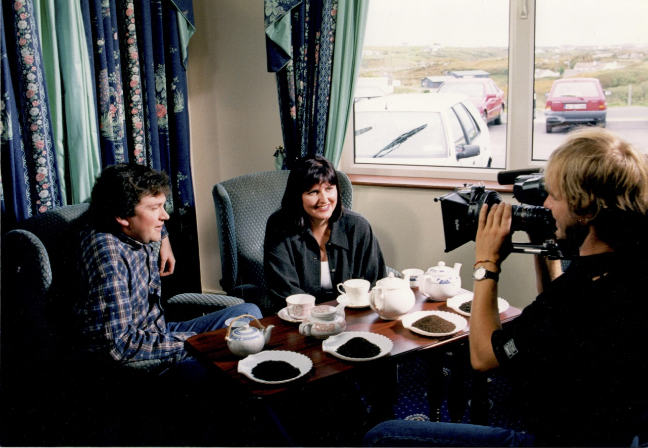 Tom Doorley, Clare McKeon, Moveable Feast (behind the scenes)